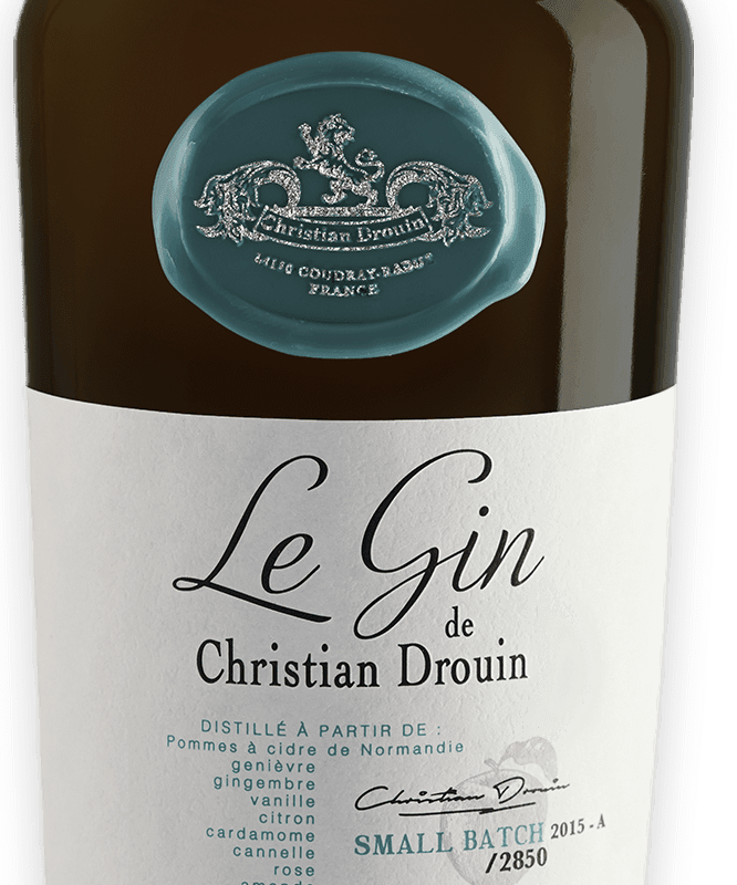 Bouteille Gin Christian Drouin
